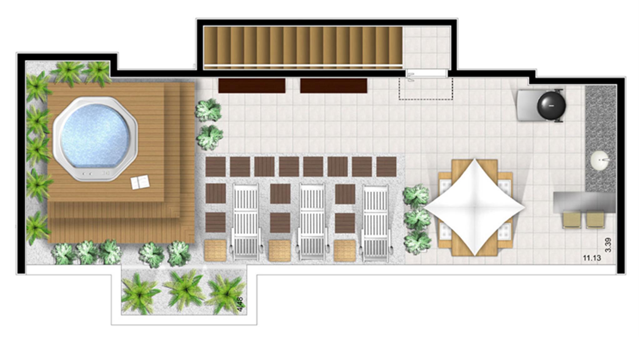 Planta:    Fatto Santo André - Apartamento no Centro - Santo André São Paulo