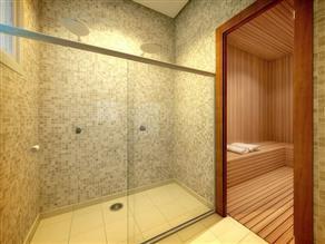 Perspectiva Ilustrada da Sauna