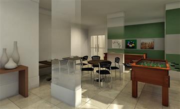 Perspectiva Ilustrada do sala~o de jogos - Soul