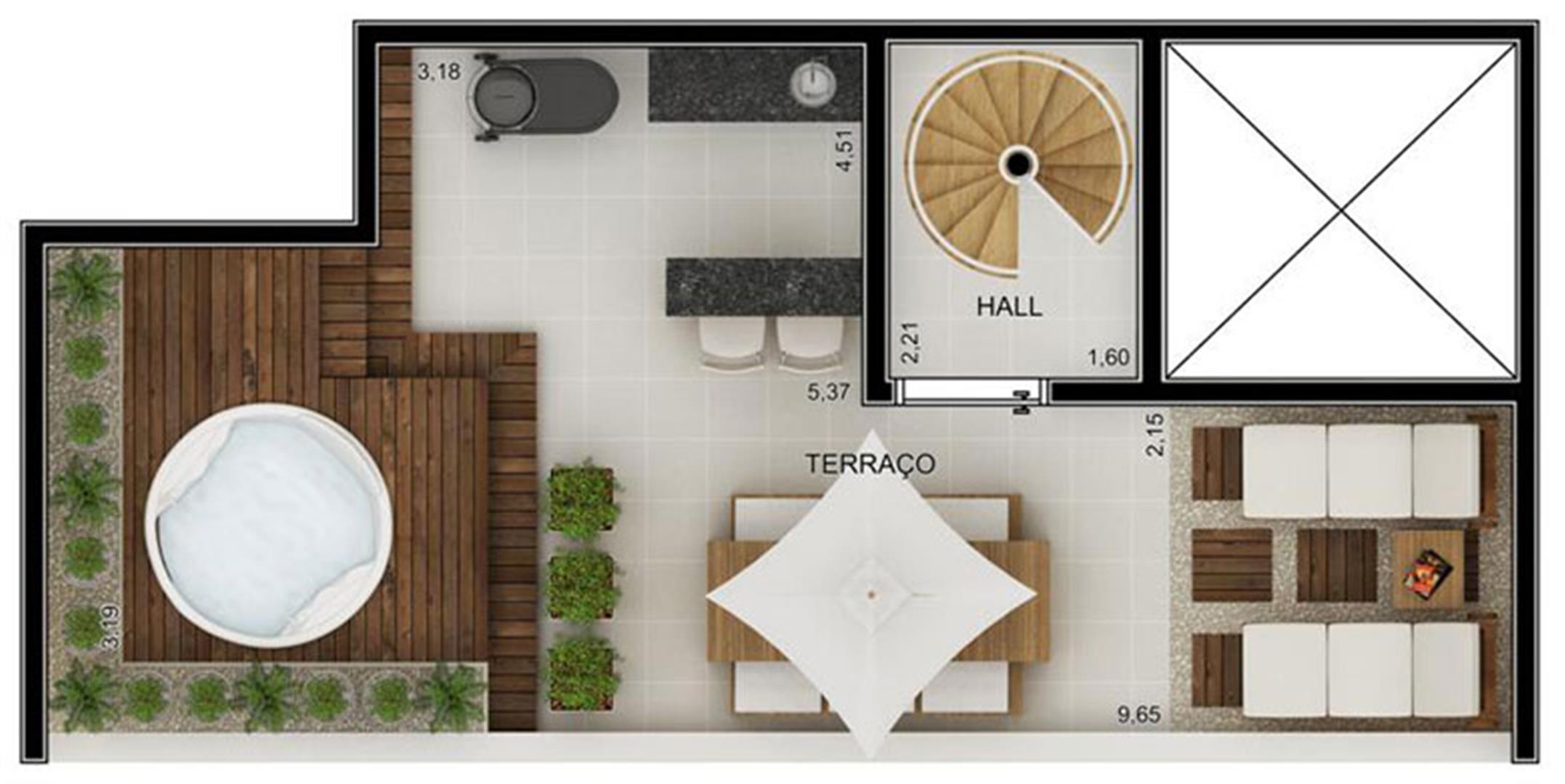 Planta:  | Novo Fatto Diadema - Apartamento em Diadema - Diadema São Paulo