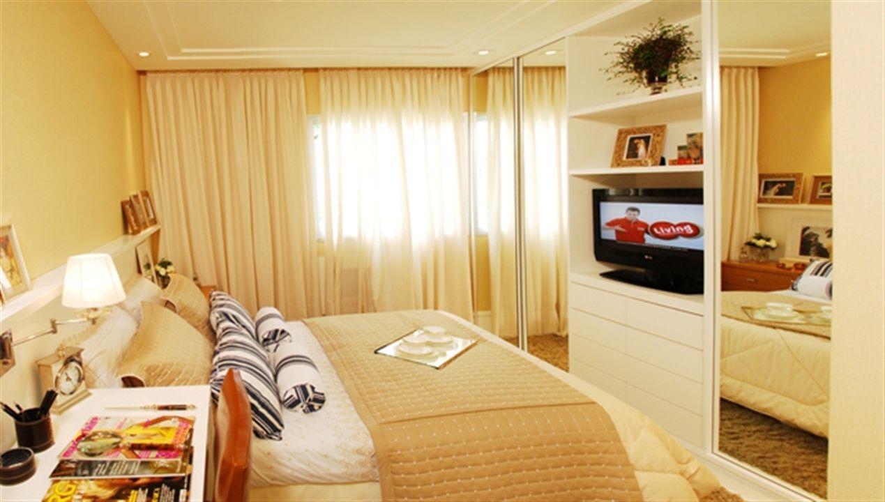 2 dormitórios - Casal