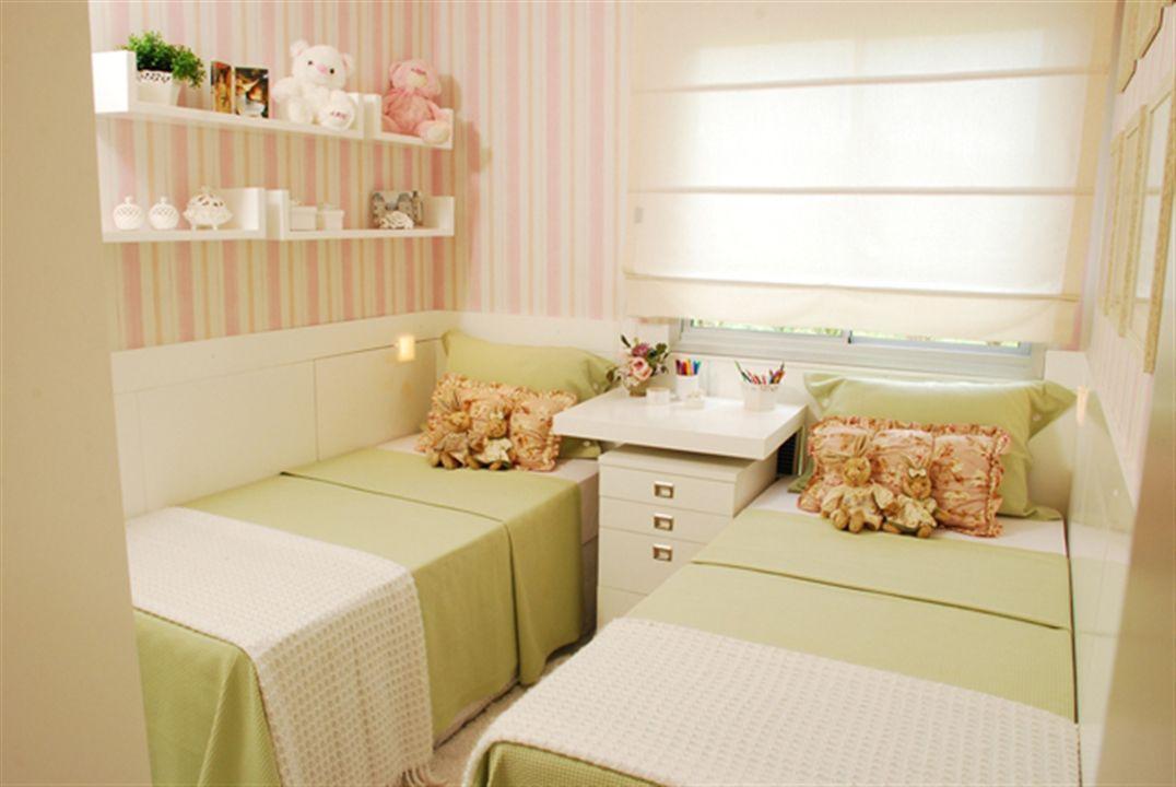 2 dormitórios - Quarto gêmeas