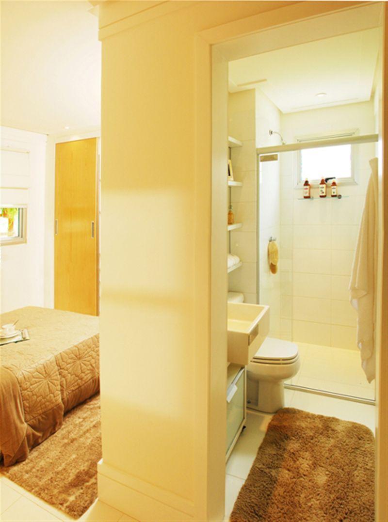 3 dormitórios - Banheiro casal