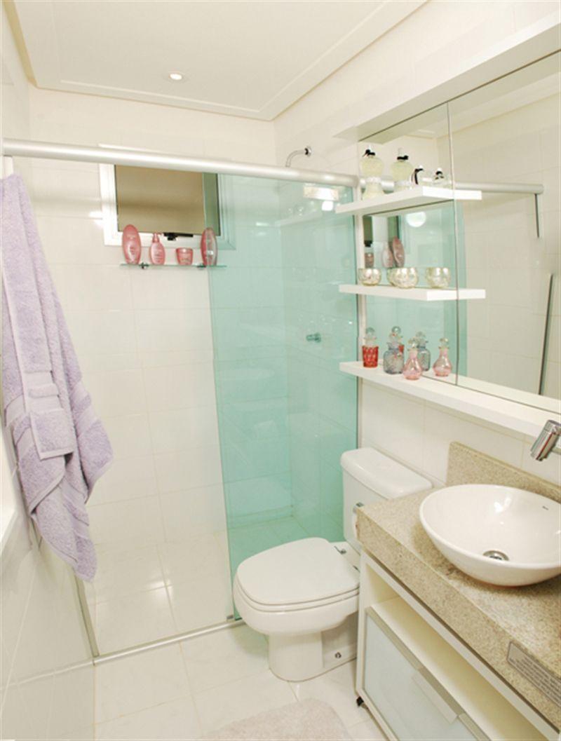 3 dormitórios - Banheiro social