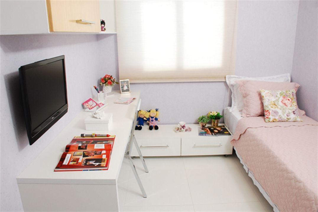 3 dormitórios - Quarto menina