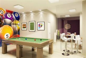 Perspectiva ilustrada Salão de Jogos para Adultos