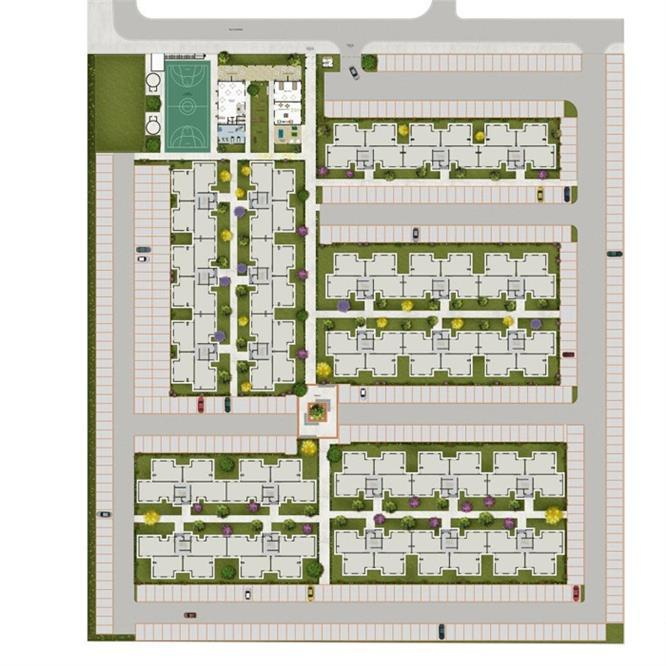 Planta:  | Viva Mais Itaquá - Apartamento na Vila São Carlos - Itaquaquecetuba SP