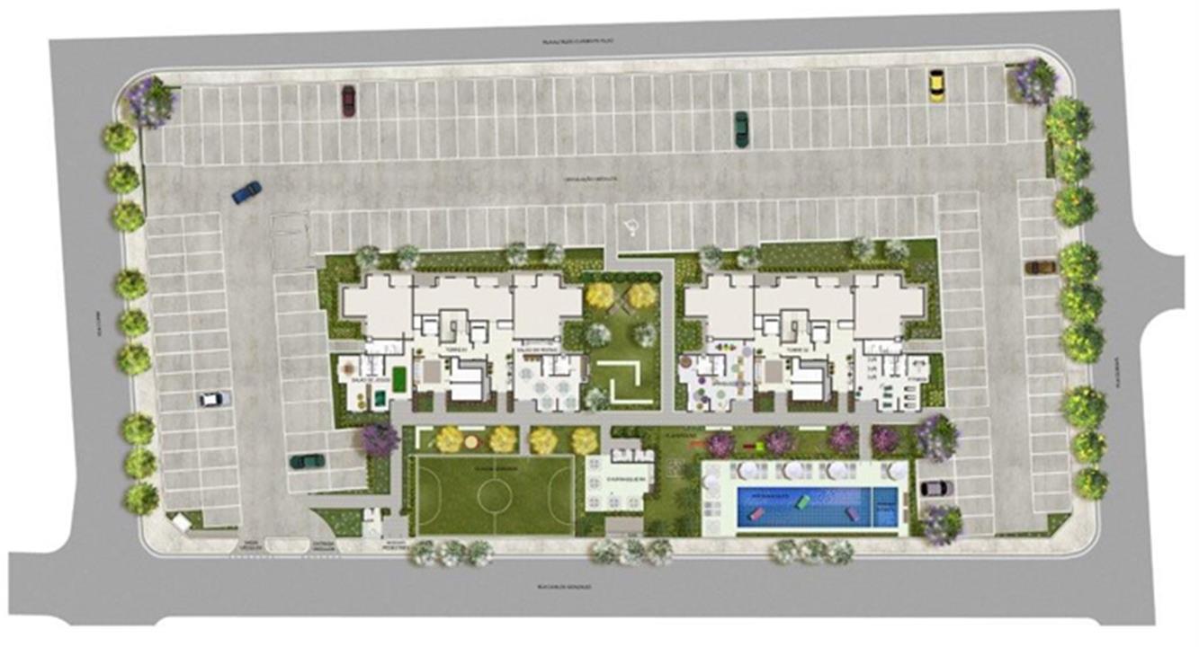 Planta:    Mérito Vila Curuçá - Apartamento na Vila Curuçá - São Paulo SP
