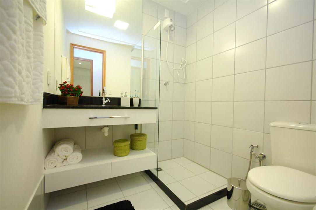 Apartamentos 2 Quartos - Banheiro Social