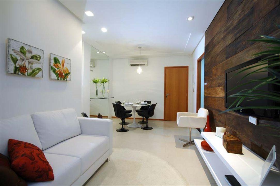 Apartamentos 2 Quartos - Sala de Estar
