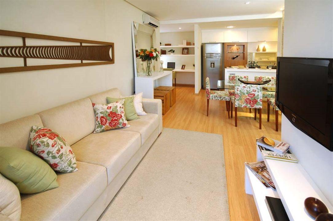 Apartamentos 3 Quartos -  Sala de Jantar e Estar