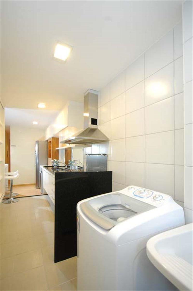 Apartamentos 3 Quartos - Cozinha e Área de Serviço