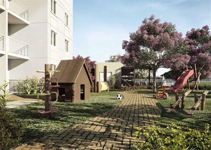 | Residencial Bosque Clube - Apartamento na Vila Monte Serrat - Cotia - São Paulo