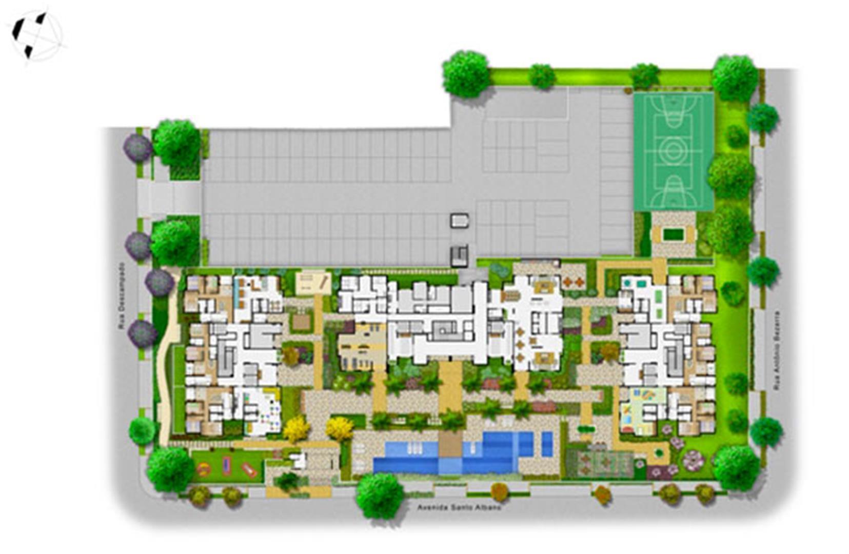 Planta:  | Alcance Clube Residencial - Apartamento no Sacomã - São Paulo São Paulo