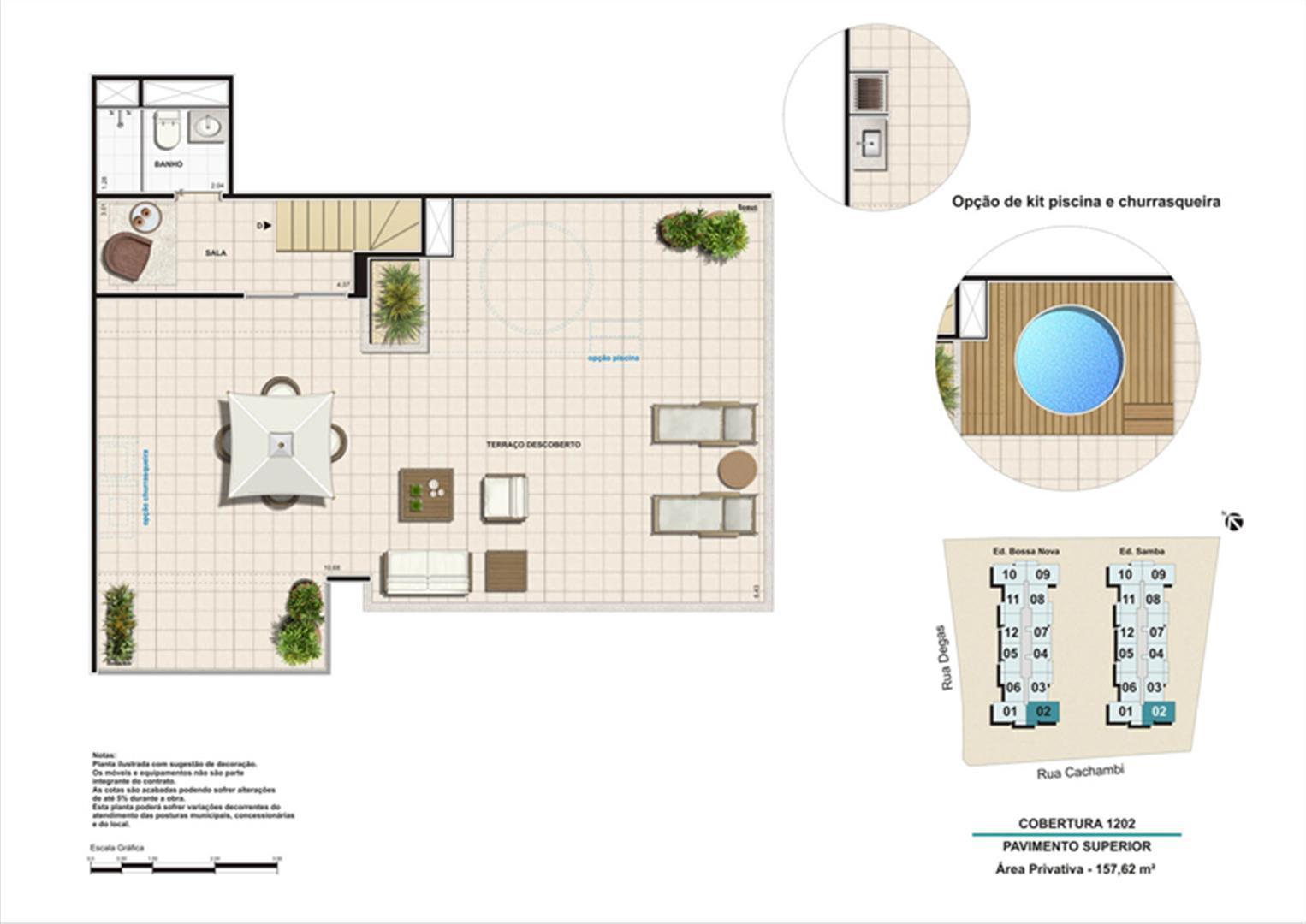 Planta:    Norte Privilege - Apartamento no Cachambi - Rio de Janeiro Rio de Janeiro