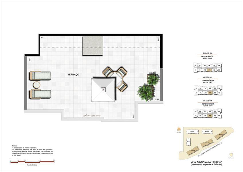 Planta:  | Norte Village - Apartamento no Cachambi - Rio de Janeiro Rio de Janeiro