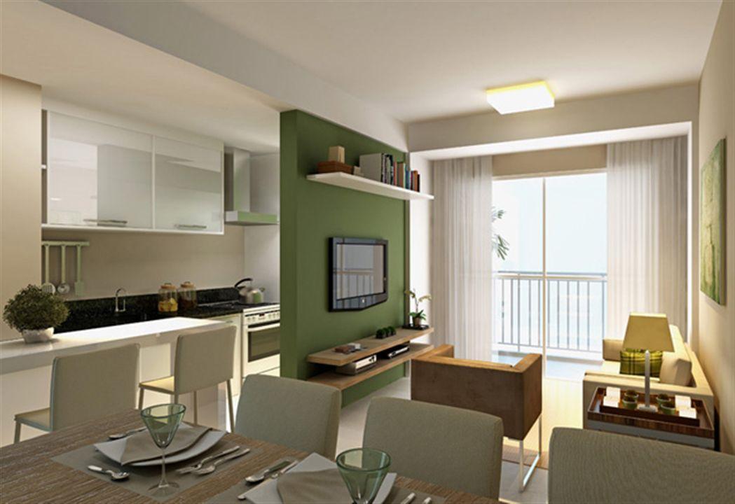 Living 2 dormitórios