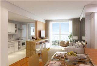 O apartamento é ótimo. Estilo e qualidade arquitetônica para toda a vida.