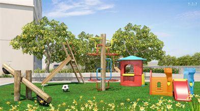 Ilustração artística da Recreação Infantil do Condomínio Agora II