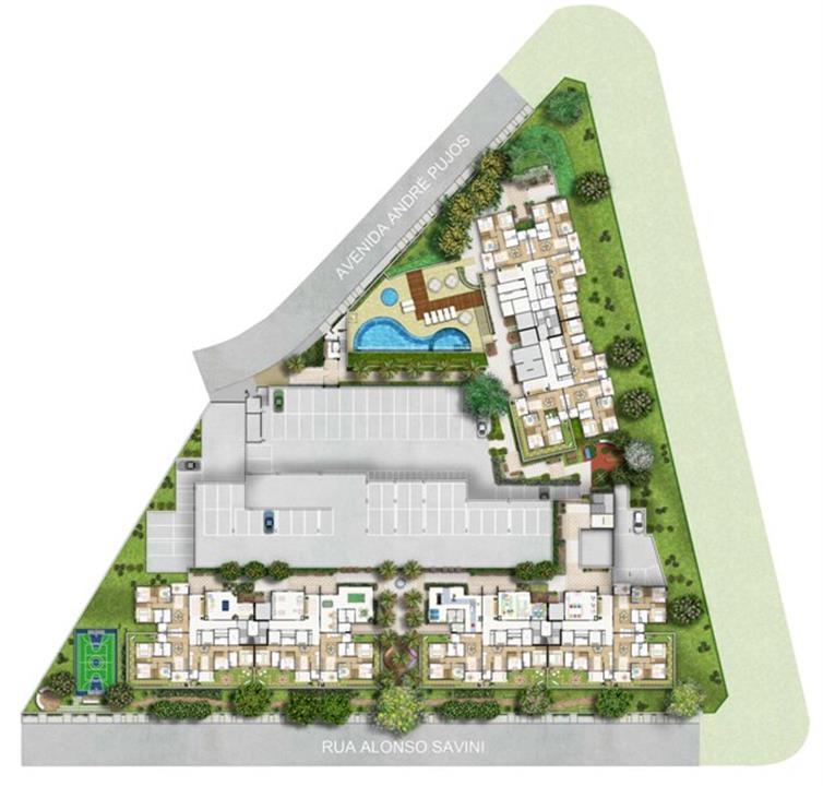 Planta:  | Fatto Jd Botânico - Fase 3 - Apartamento no Jardim Celeste - São Paulo SP