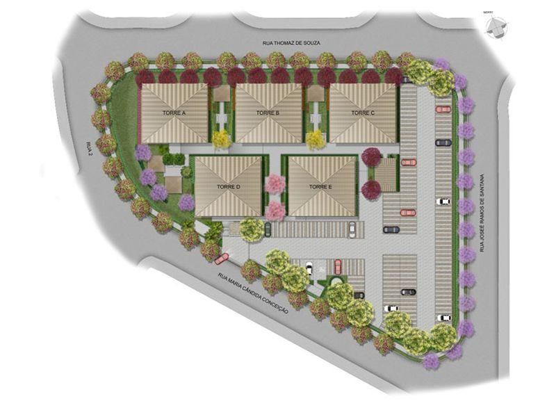 Planta:  | Mais Mirassol - Apartamento no Jardim Mirassol - Campinas São Paulo