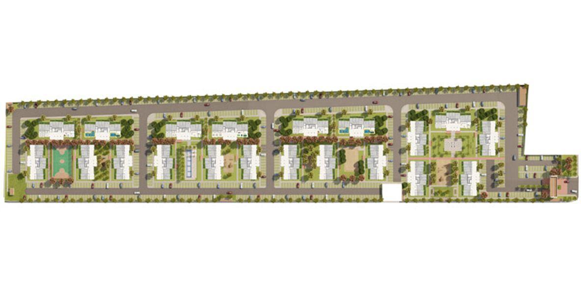 Planta:  | Alegro - Apartamento em Tapanã - Belém Pará