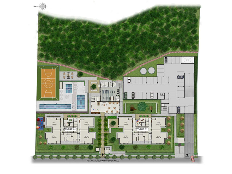 Planta:    Vita Alto do Ipiranga - Apartamento no Parque Santana - Mogi das Cruzes São Paulo