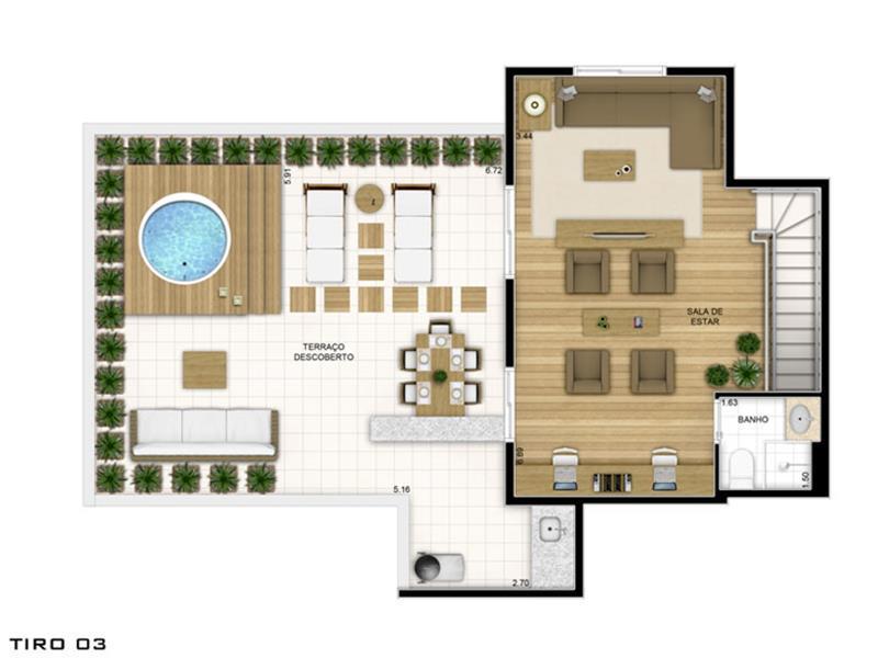 Planta:  | Fatto Quality Vila Augusta - Apartamento na Vila Augusta - Guarulhos SP