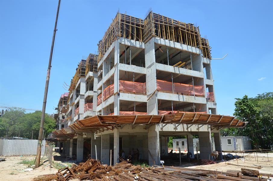 Início das obras Rio Parque - Rio Residencial - Apartamento no Del Castilho - Rio de Janeiro, RJ