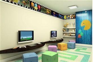 Perspectiva ilustrada espaço videogame