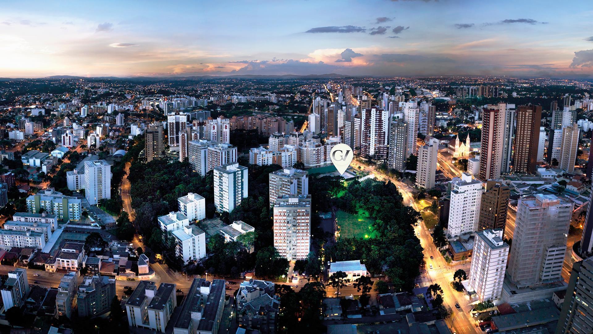 Localização | Grand Vert – Apartamentono  Juvevê - Curitiba - Paraná
