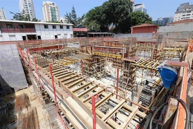 Estrutura   Cyrela by Pininfarina – Apartamentona  Vila Olímpia - São Paulo - São Paulo
