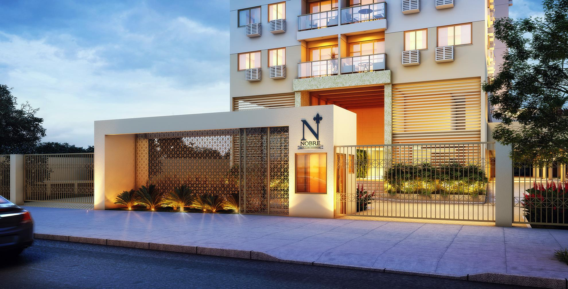 Fachada | NOBRE NORTE CLUBE RESIDENCIAL – Apartamentono  Grande Méier - Rio de Janeiro - Rio de Janeiro