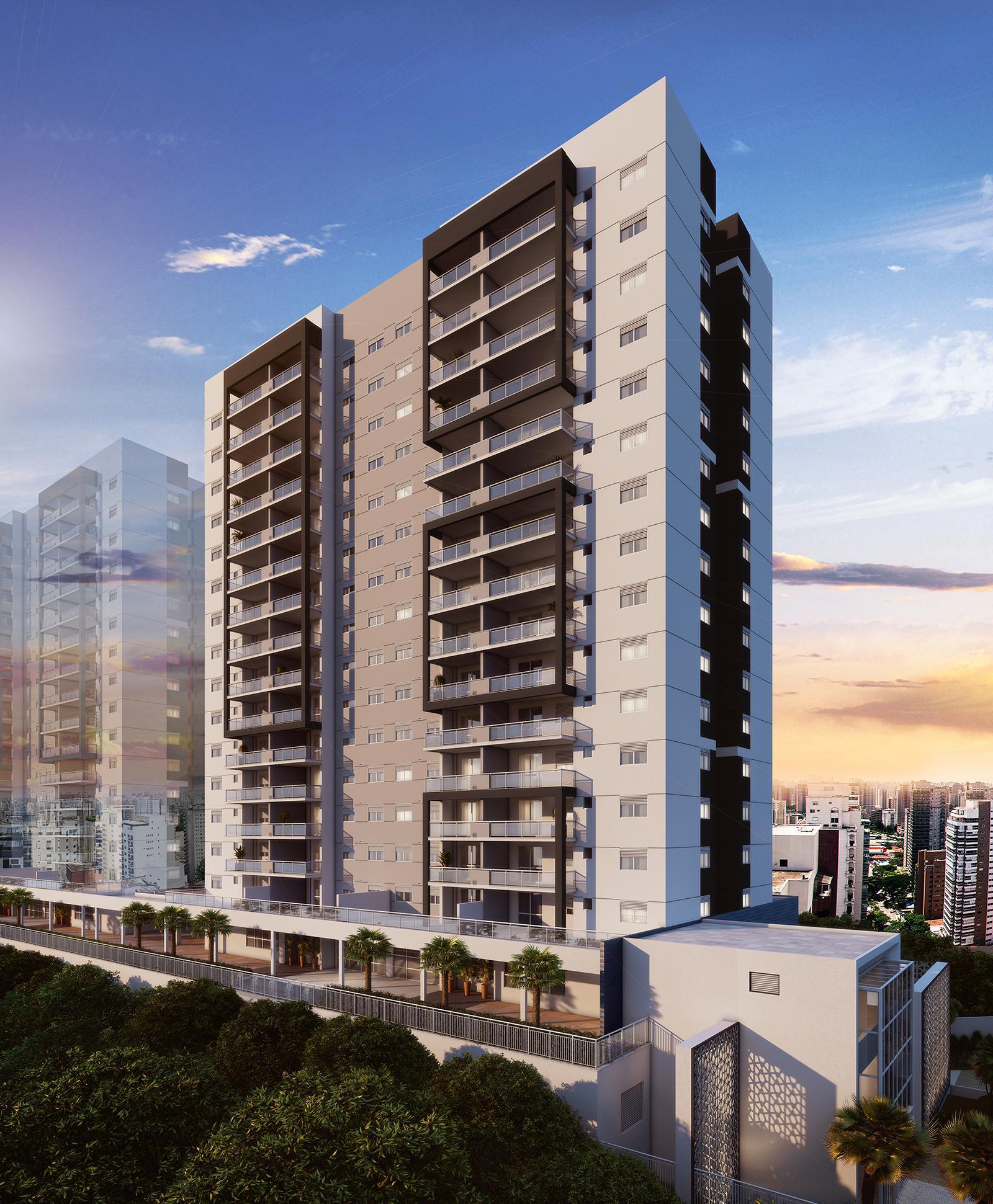 Fachada | Panamerica Brickell – Apartamentoem  Santo Amaro - São Paulo - São Paulo