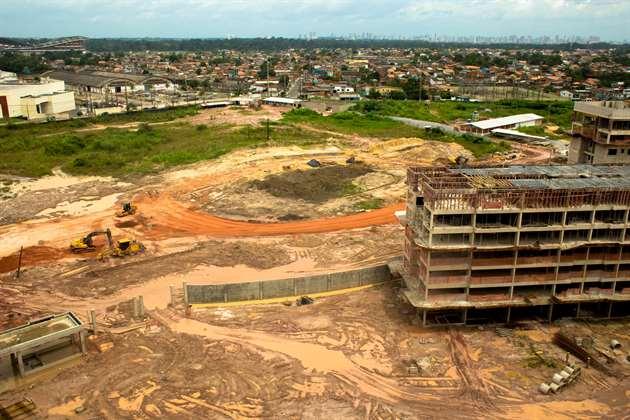 Início das obras | Jardim de Valencia – Apartamentono  Parque Verde - Belém - Pará
