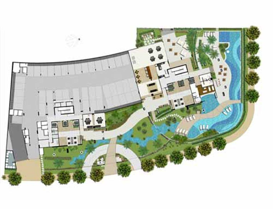 Implantação Térreo | Reserva Grann Parc – Apartamentono  Jardim Goiás - Goiânia - Goiás