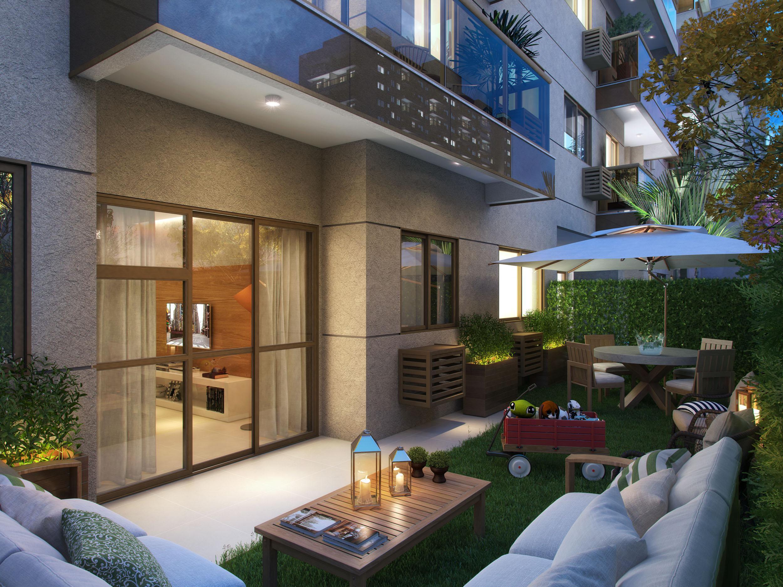 Garden | RJZ Cyrela Like Residencial Club – Apartamentoda  Barra Olímpica - Rio de Janeiro - Rio de Janeiro