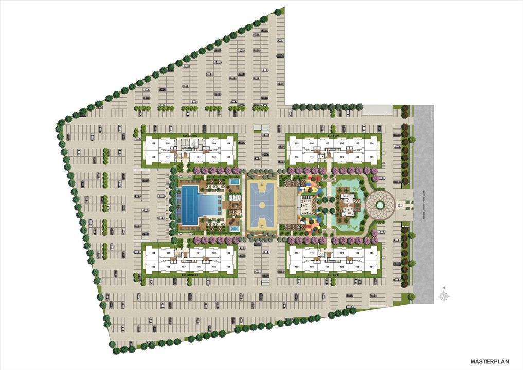 MASTERPLAN | RJZ Cyrela Like Residencial Club – Apartamentoda  Barra Olímpica - Rio de Janeiro - Rio de Janeiro
