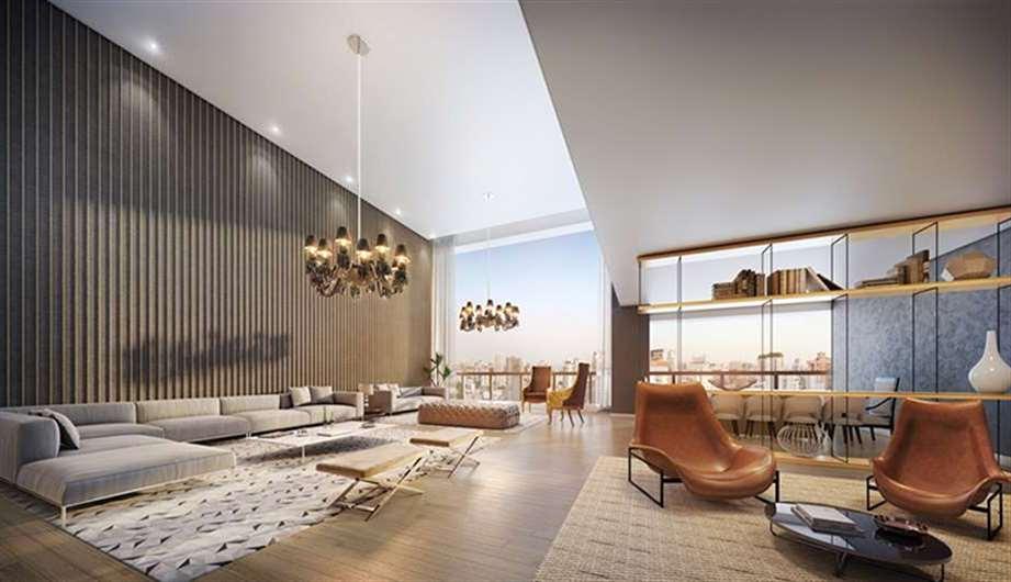 Living | One Sixty – Apartamentona  Região da Faria Lima - São Paulo - São Paulo