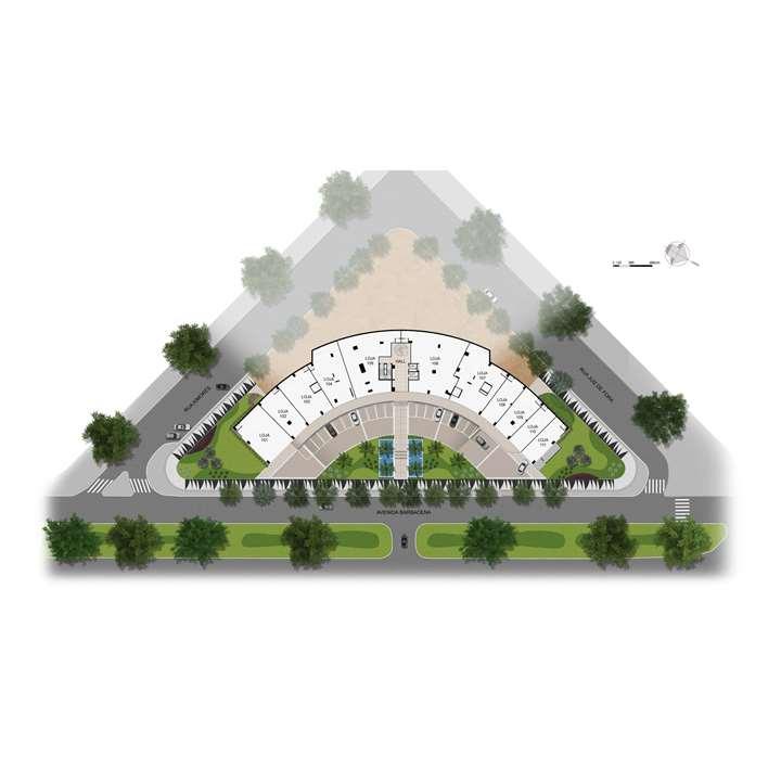 Planta 1º Pavimento | MedPlex Belo Horizonte – Salas Comerciaisno  Santo Agostinho  - Belo Horizonte - Minas Gerais