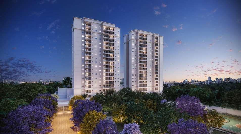 Fachada   Living Wish – Apartamentoem  Santo Amaro - São Paulo - São Paulo