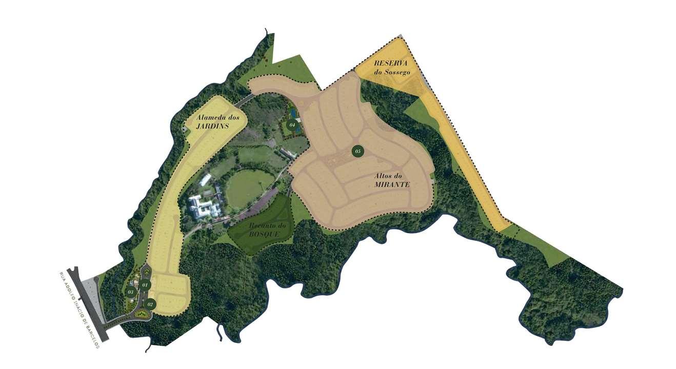 Implantacao landscape | Cyrela Landscape Seminário – Loteno  Centro de Gravataí - Gravataí - Rio Grande do Sul