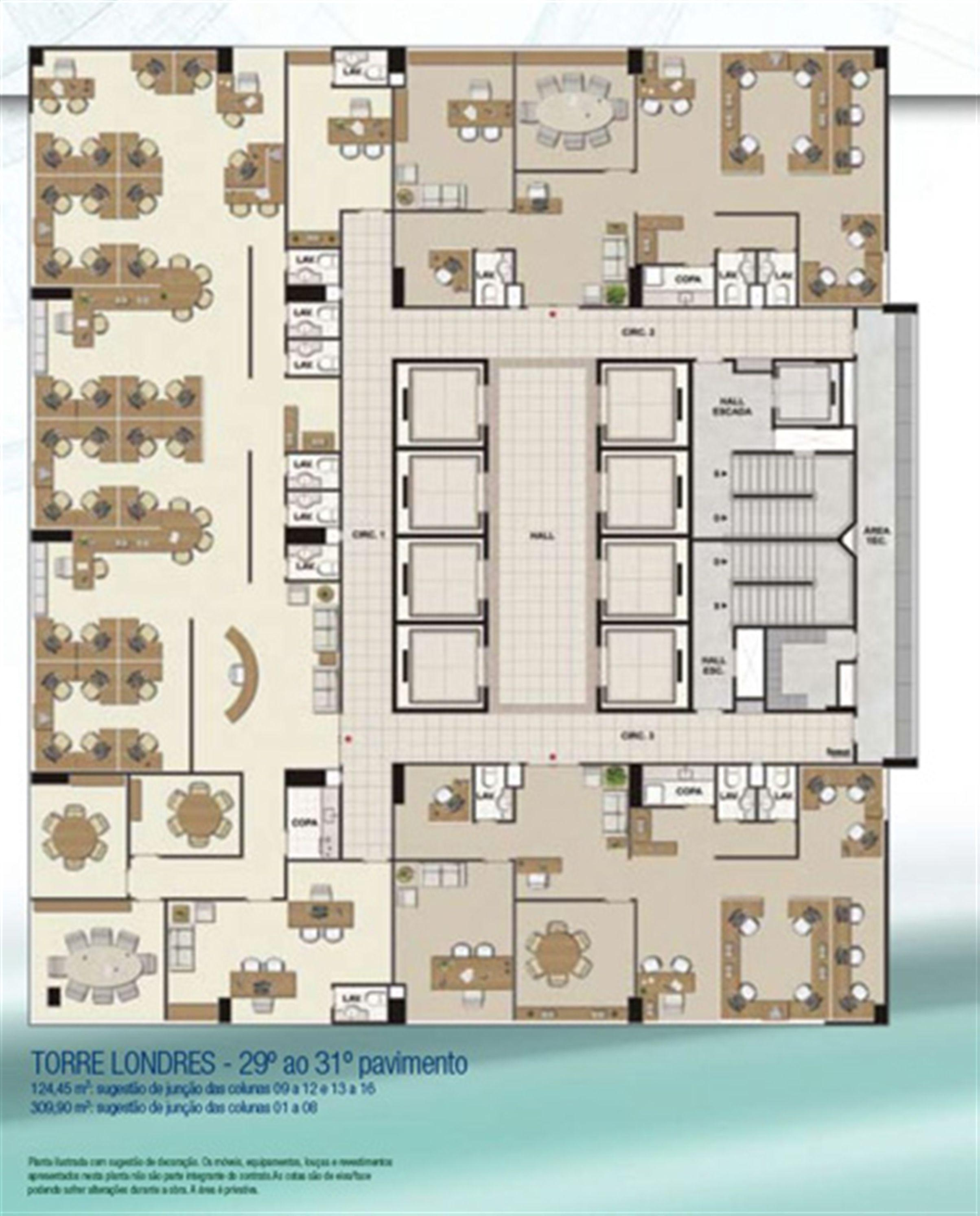 Espaço coorporativo 309,90 m² e 124,45 m² | CEO Salvador Shopping – Salas Comerciais  Ao lado do Salvador Shopping - Salvador - Bahia