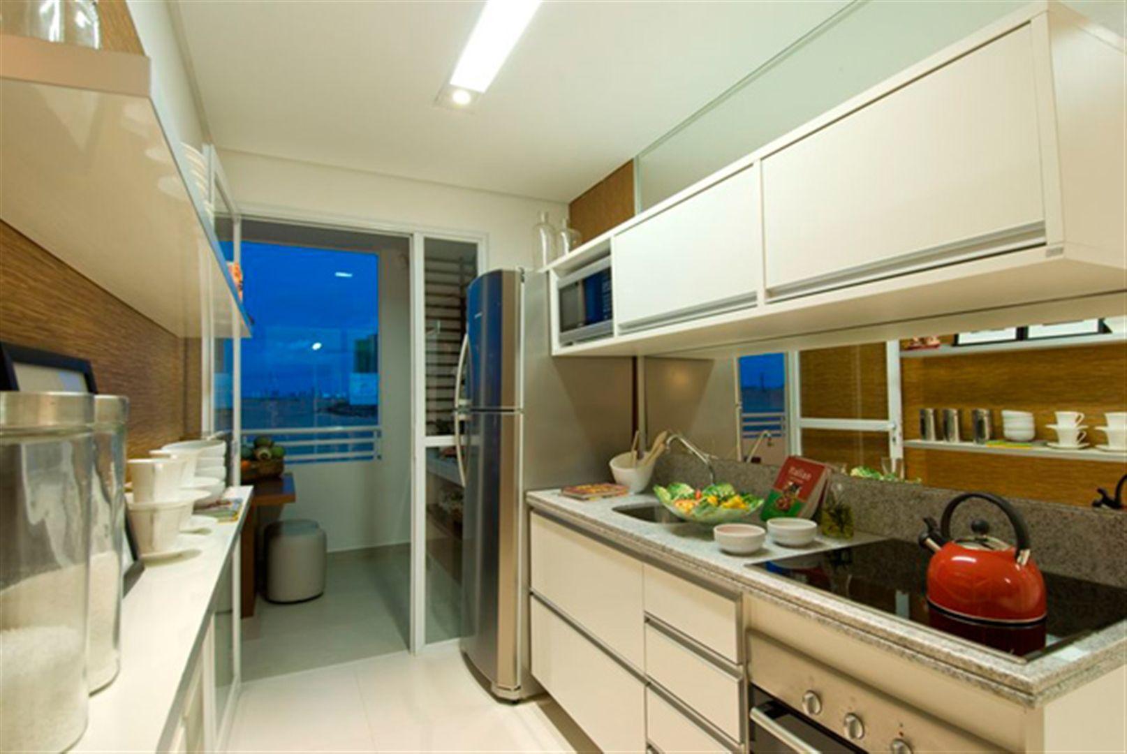 Cozinha | L´Acqua Condominium Club – Apartamentoem  Neópolis - Natal - Rio Grande do Norte
