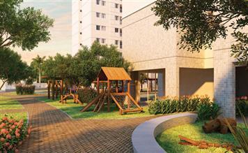 Perspectiva Ilustrada da Praça e do Playground