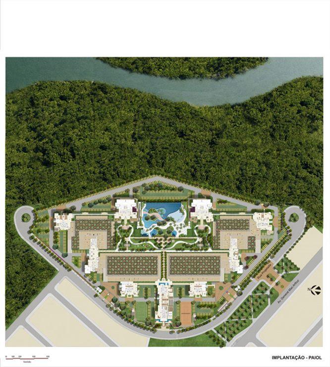 Planta:  | Le Parc Boa Viagem - Apartamento em Boa Viagem - Recife PE