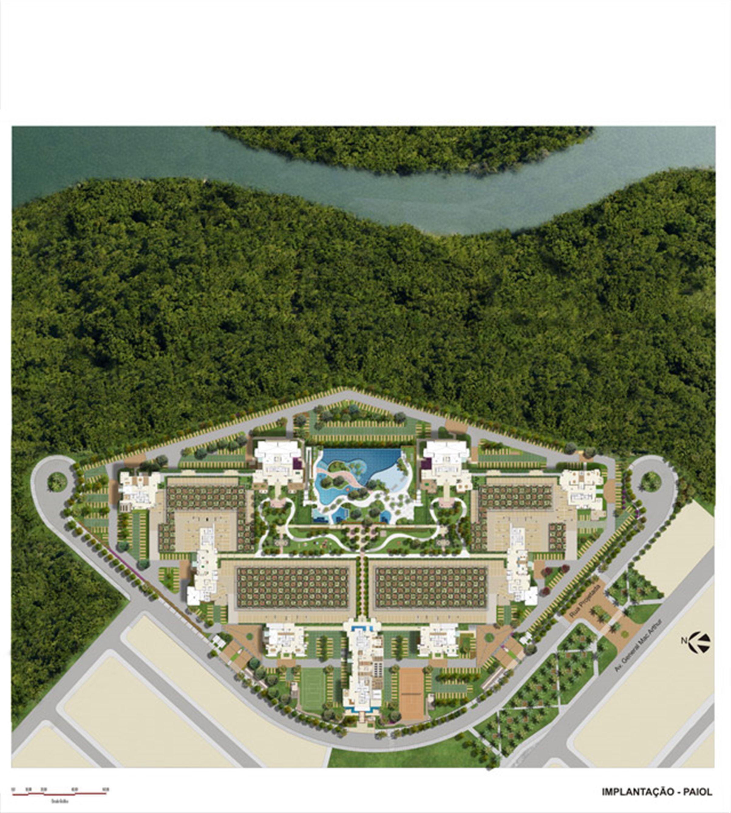 Masterplan vazado | Le Parc Boa Viagem – Apartamentoem  Boa Viagem - Recife - Pernambuco