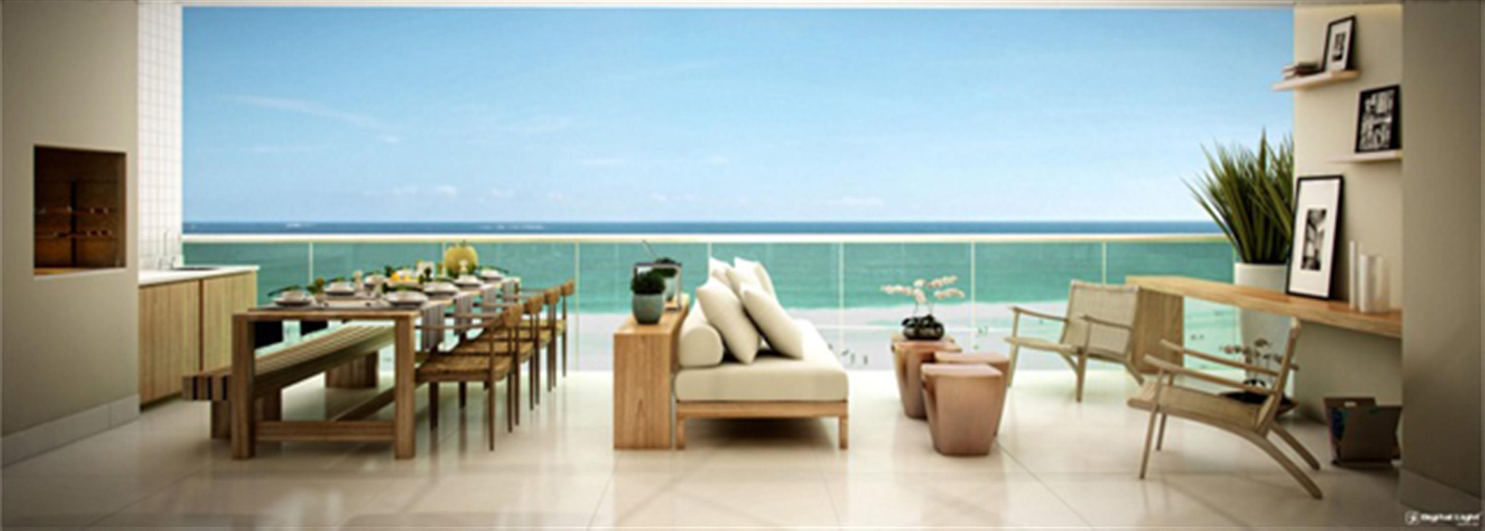Varanda   Infinity Areia Preta – Apartamentona  Areia Preta - Natal - Rio Grande do Norte