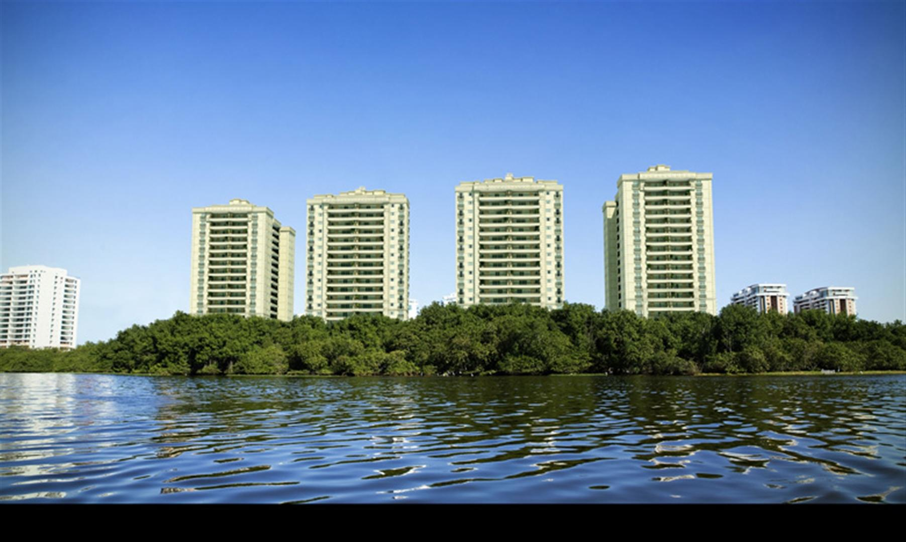 Fachada   360º On The Park – Apartamentona  Barra da Tijuca - Rio de Janeiro - Rio de Janeiro