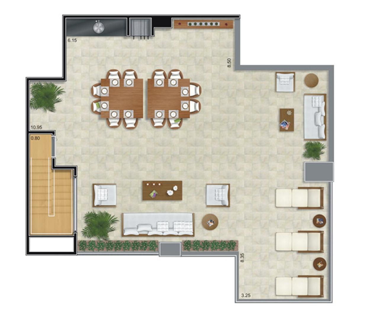 Cobertura Duplex Superior | Camino – Apartamento no  Belém - São Paulo - São Paulo